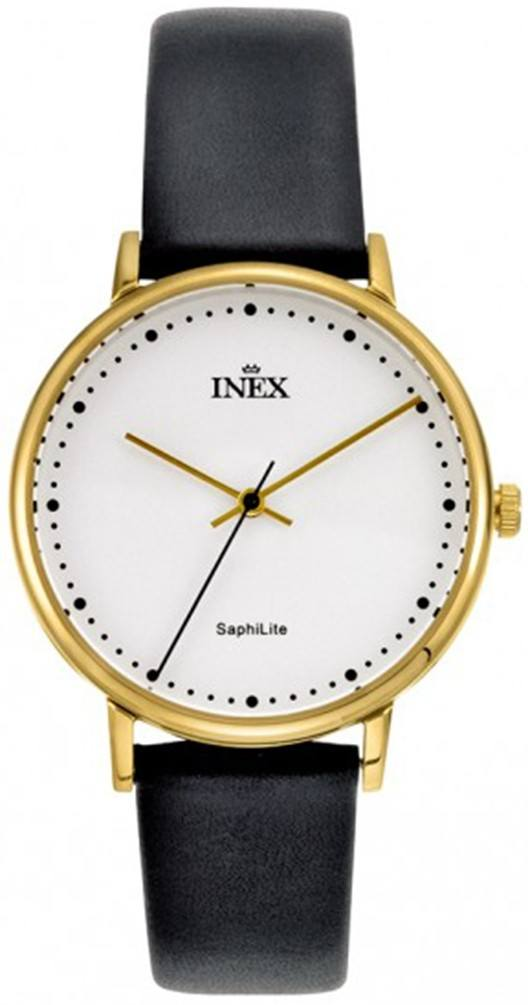 Ladies White And Golden Dameur Fra Inex A69501D4P
