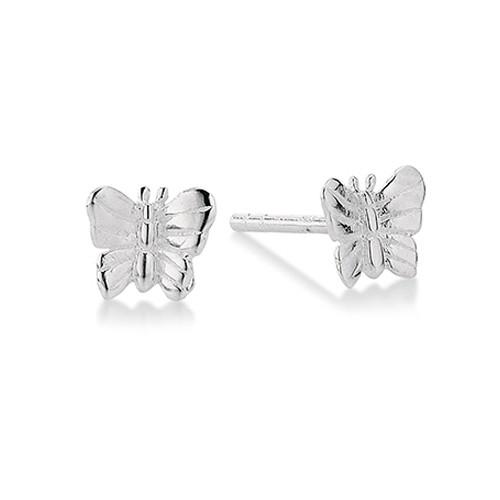 Sommerfugl Sterling Sølv Ørestikker fra Aagaard