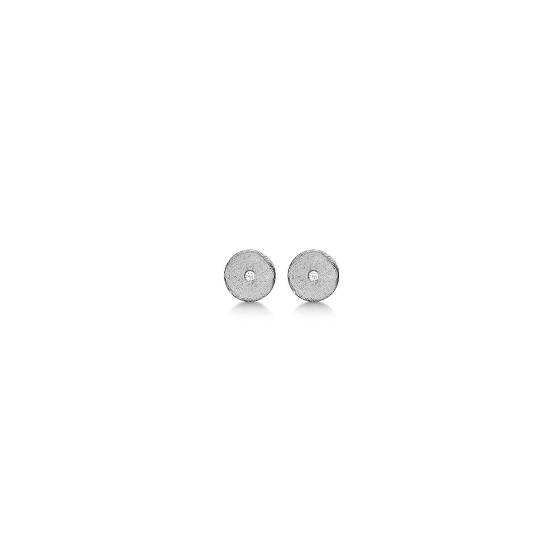 Aagaard Sterling Sølv Ørestikker med Brillanter 0,02 Carat W/P1