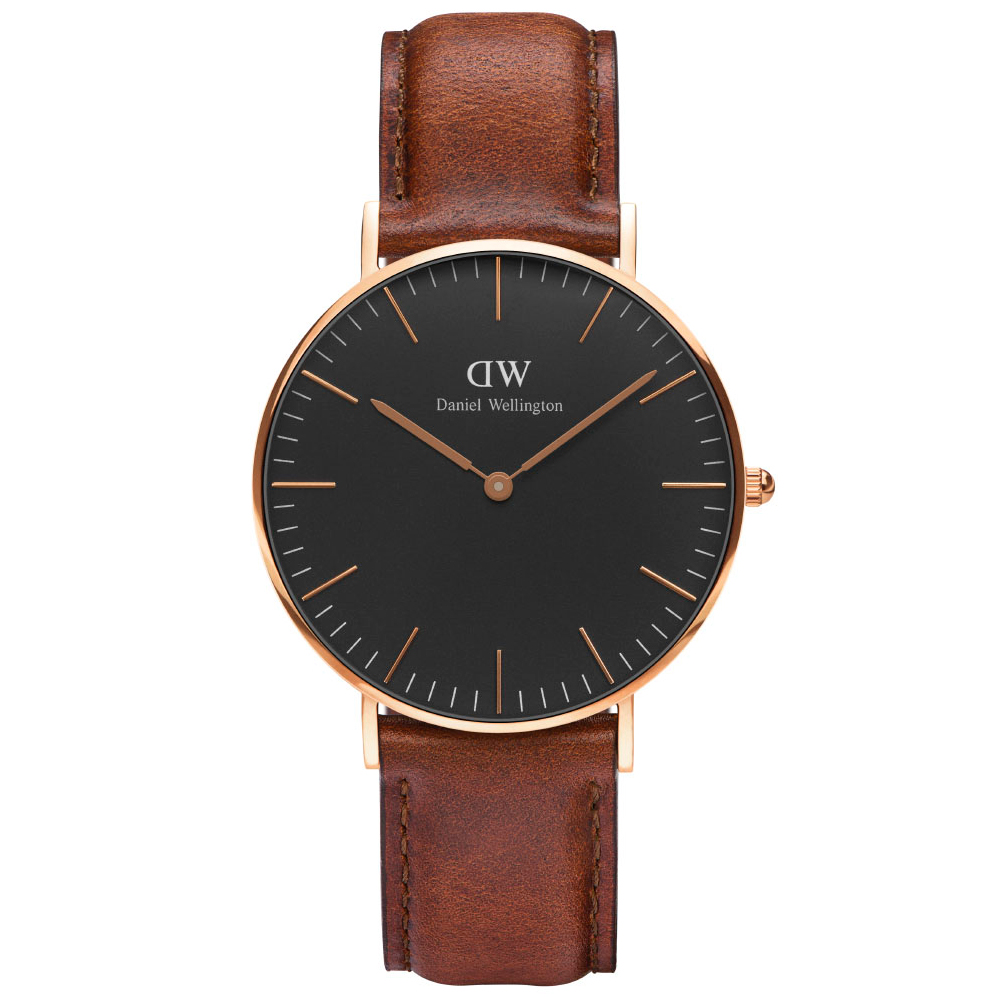 Daniel Wellington Classic Black St Mawes Ur ADW00100136