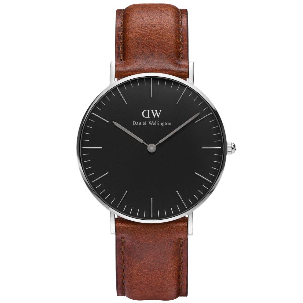 Image of   Classic Black St Mawes 36 MM ADW00100142 Unisexur