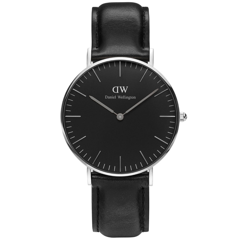Classic Black Sheffield 36 MM ADW00100145 Ur til Dame & Herre