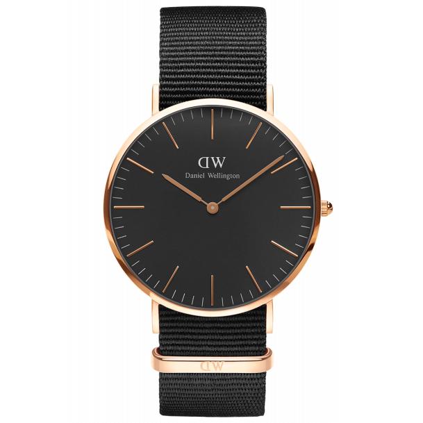 Image of   Daniel Wellington Classic Black Cornwall 40 MM Ur ADW00100148