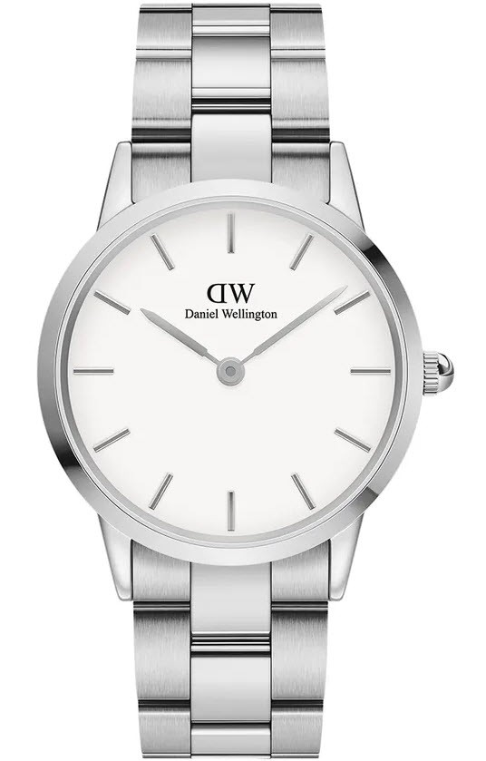Image of   28 MM Iconic Link Silver Ur Fra Daniel Wellington ADW00100203