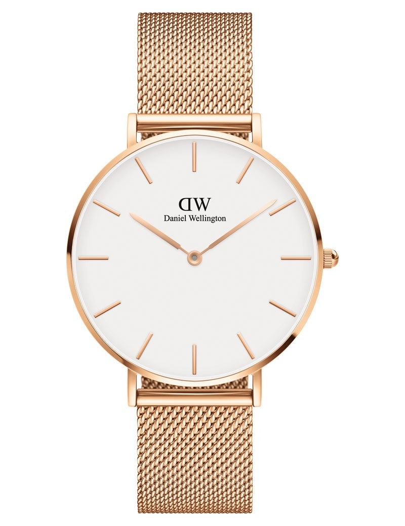 Image of   36 MM Petite Melrose White Ur Fra Daniel Wellington ADW00100305