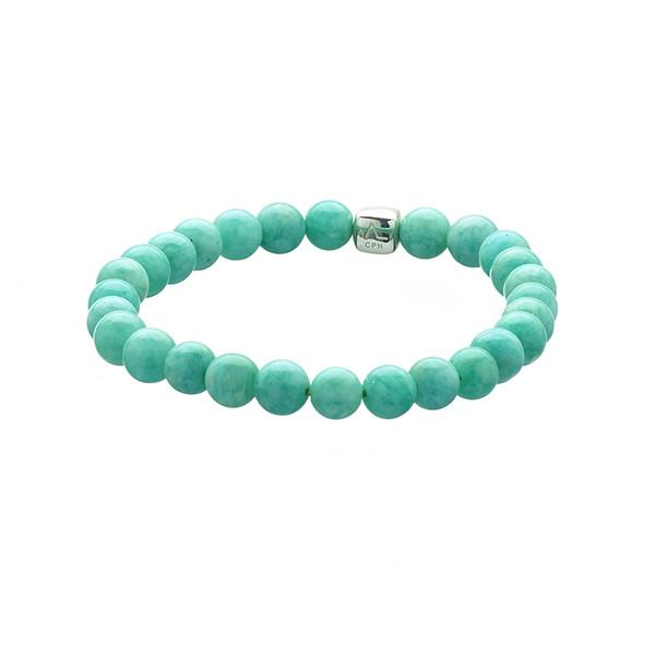 Image of   ALEXANDER LYNGGAARD AMAZONITE ARMBÅND 6MM