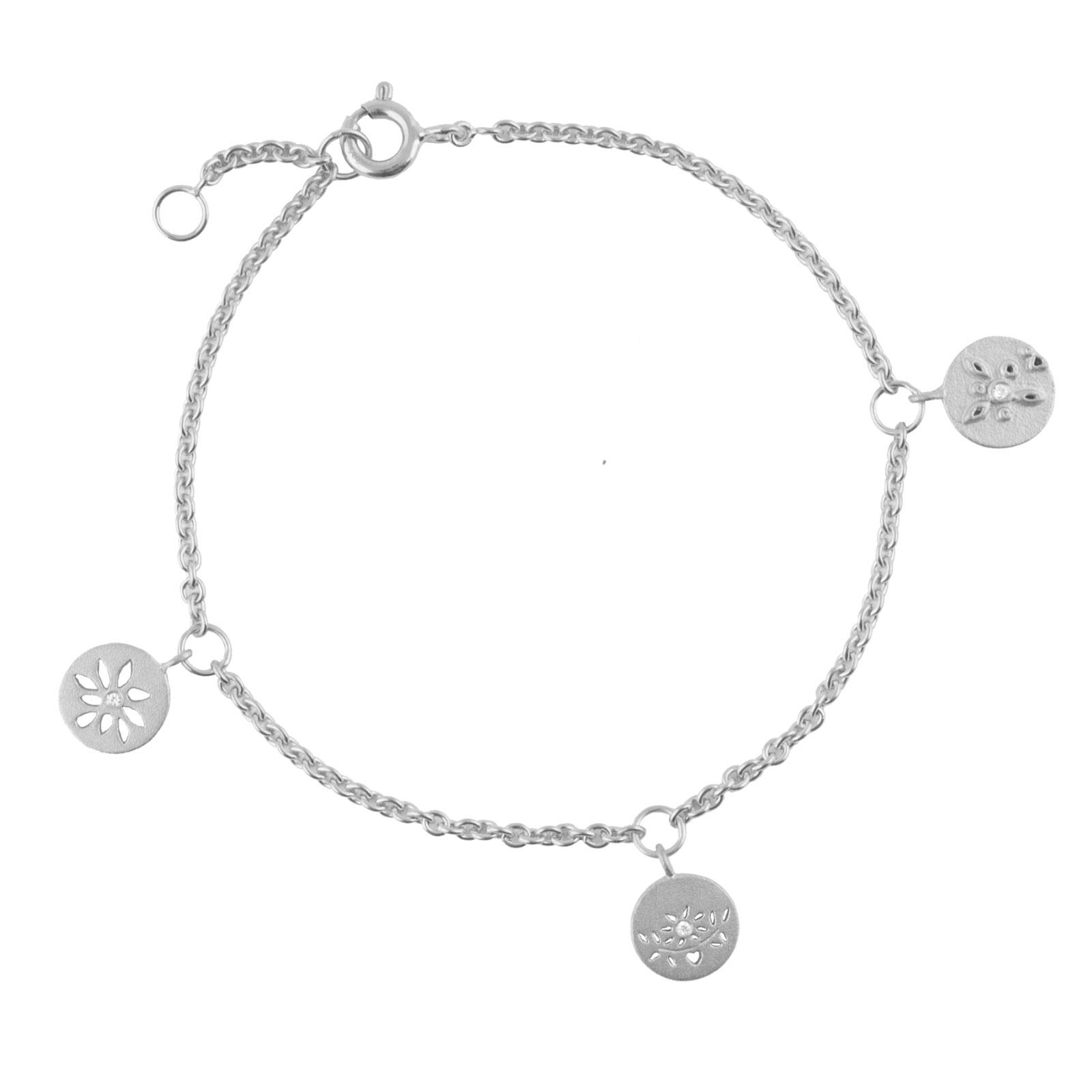 Sølv Armbånd fra Lene Visholm B.1258RH
