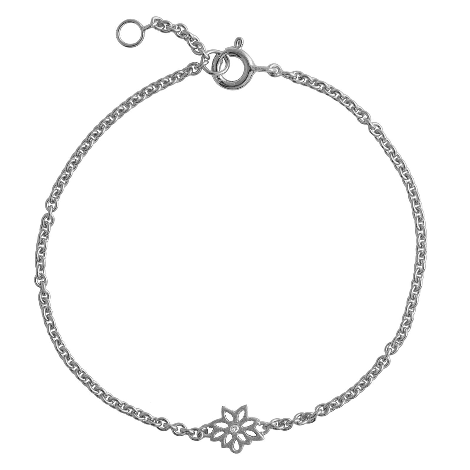 Dahlia Sølv Armbånd fra Lene Visholm B.1270RH