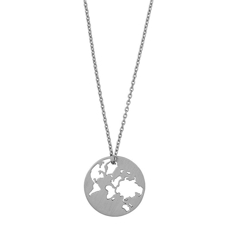 Sterling Sølv Halskæde fra byBiehl C-1601-R