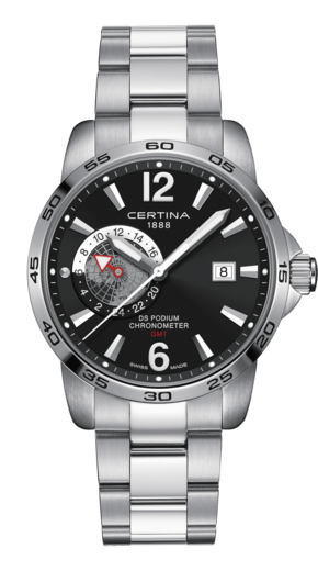 DS Podium Gmt Ur til Herre Fra Certina C0344551105700