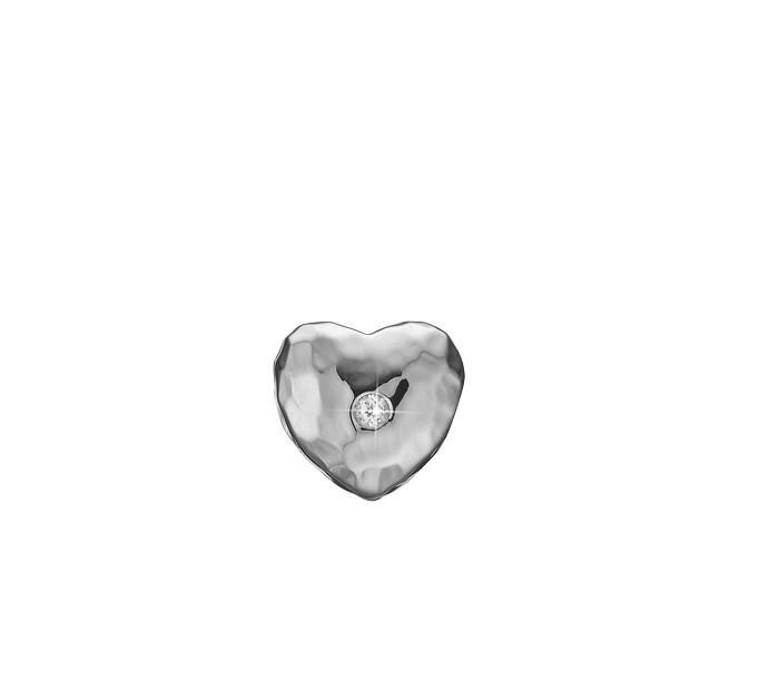 Christina Watches Sweet Heart Sterling Sølv Charm med Topas