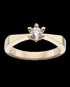 Victoria Ring 0,20 ct. i 14 Karat Guld fra Scrouples