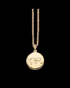 Scrouples Verden Amulet 8 Karat Guld Vedhæng 211373