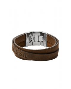 Læder Herrearmbånd fra Fossil JF03188040