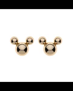 Støvring Design Mickey Mouse Ørestikker i 8 Karat Guld