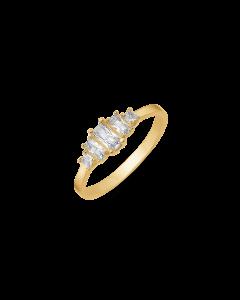 Støvring Design Ring i 8 Karat Guld 62251965