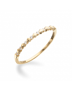 8 Karat Guld Ring fra Scrouples 711333