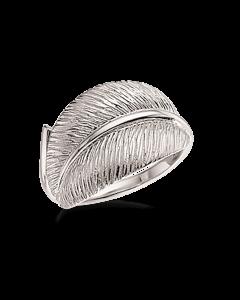 Scrouples Primavera Blad Ring i Rhodineret Sølv 725222