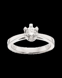 Prinsesse Ring 0,30 ct. i 14 Karat Hvidguld fra Scrouples