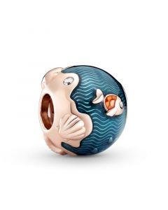 Pandora Fish & Ocean Forgyldt Sølv Charm 789004C01