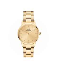 ADW00100403 fra Daniel Wellington - Pænt Dameur 28 MM Unitone Gold Iconic Link