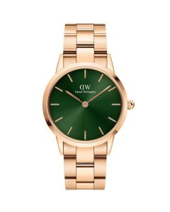 ADW00100419 fra Daniel Wellington - Dameur 36 MM Iconic Emerald Rose
