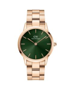 Daniel Wellington ADW00100420 - 32 MM Iconic Emerald Rosa dameur