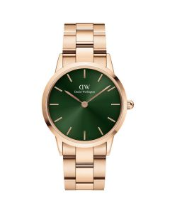 Daniel Wellington ADW00100421 - Pænt dameur 28 MM Iconic Emerald Rose