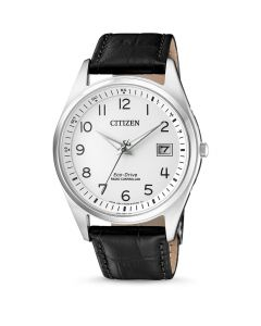 Stilfuldt Eco-Drive Radio Controlled herreur fra Citizen - AS2050-10A