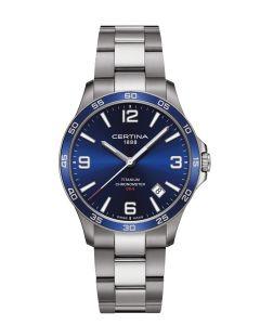 Certina C0338514404700 - DS-8 Blue herreur