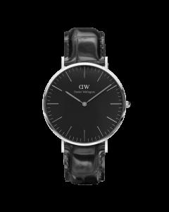 ADW00100135 fra Daniel Wellington - Flot Unisexur Classic Black Reading 40 MM