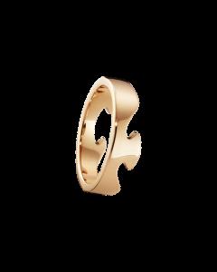 Georg Jensen Fusion Ende 18 Karat Guld Ring