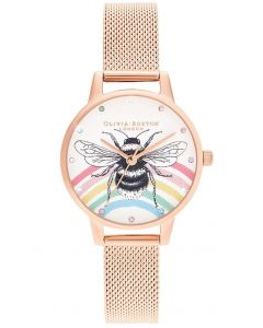 OB16WL90 fra Olivia Burton - Flot Dameur Rainbow Bee