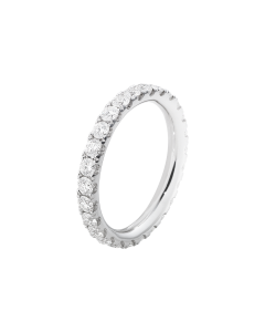 Aurora 18 Karat Hvidguld Ring fra Georg Jensen med Brillanter 0,91 - 0,98 Carat TW/VS