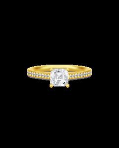 Imperial Forgyldt Sølv Ring fra Julie Sandlau