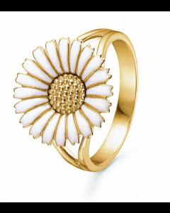 Marguerit Forgyldt Sølv Ring fra Mz 8240601