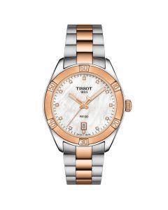 Tissot T1019102211600 - Flot dameur PR100 Sport Chic Dame Diamant