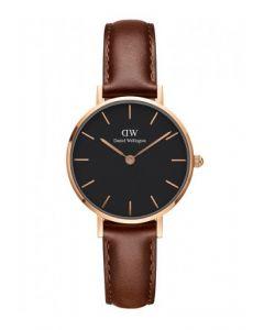 Daniel Wellington Ur Classic Black Petite St Mawes 28 MM ADW00100225