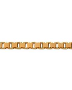 14 Karat Guld Veneziakæde Tråd 1,30mm BNH