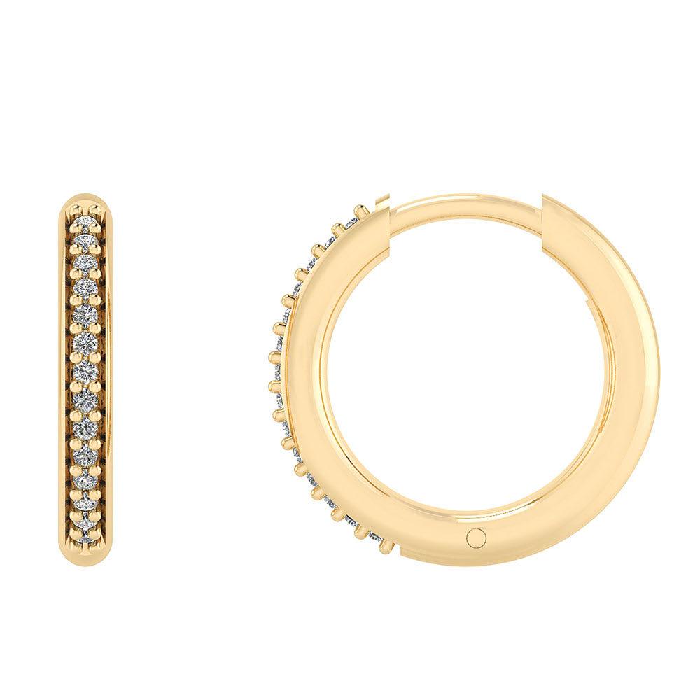 Smykkekæden Forgyldte Sølv Øreringe DMB0302FG