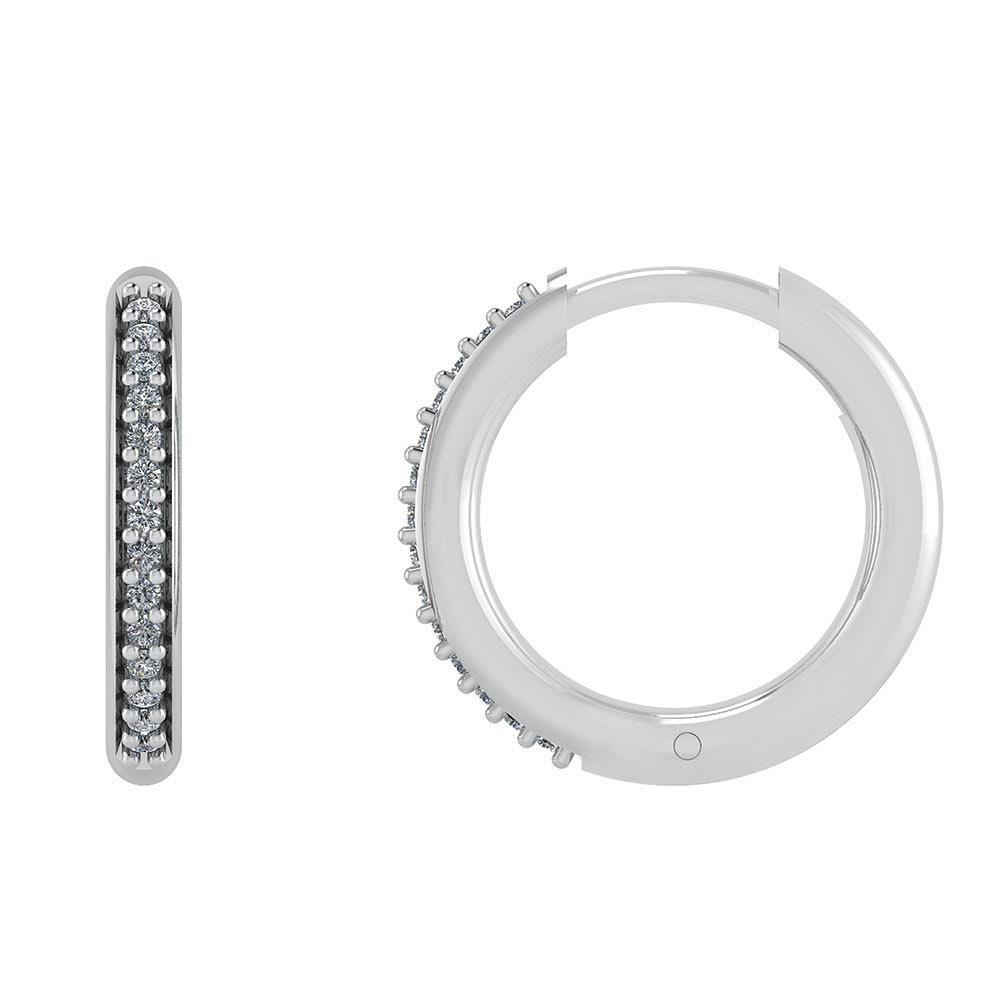 Smykkekæden Øreringe i Sterling Sølv DMB0302S