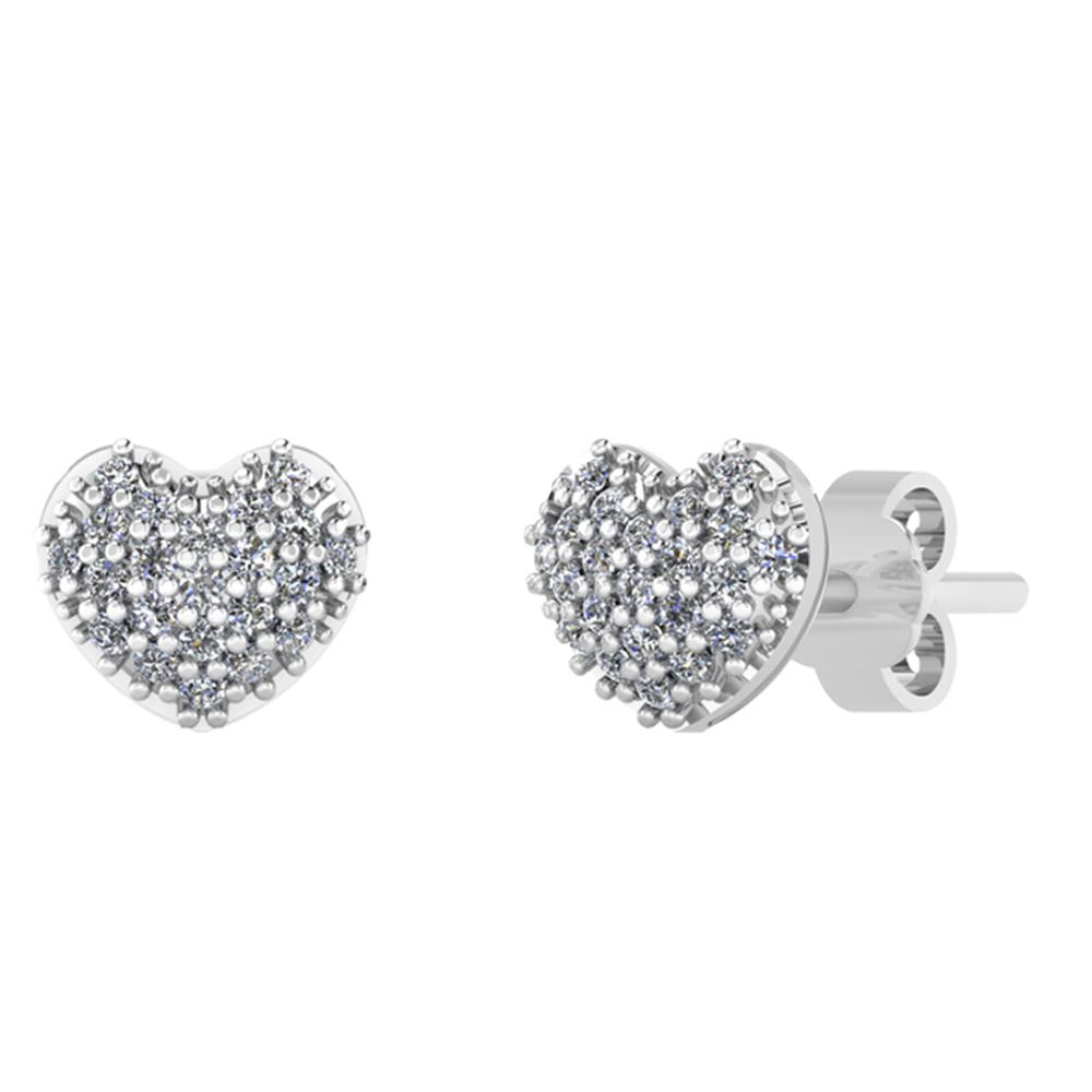 Sølv Ørestikker fra Smykkekæden med Hjertemotiv
