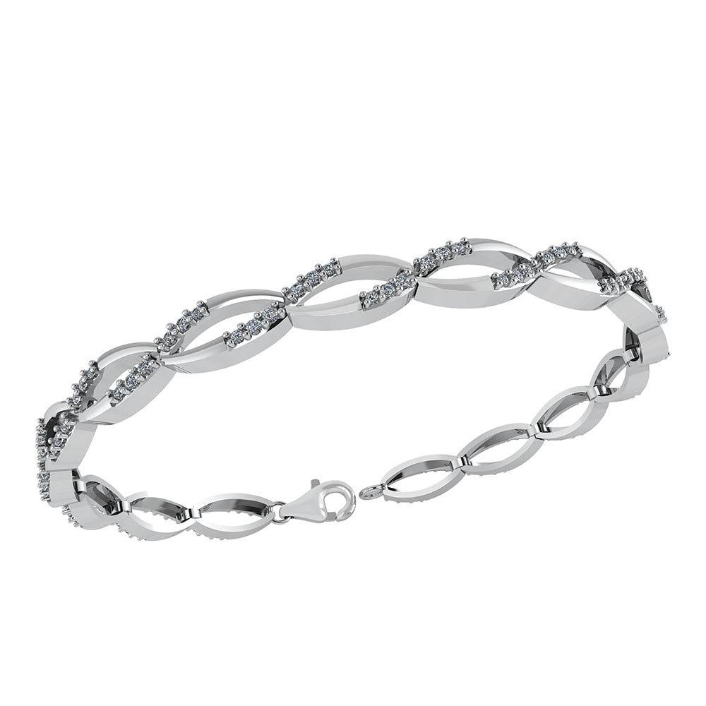 Sterling Sølv Armbånd fra Smykkekæden DML0171S