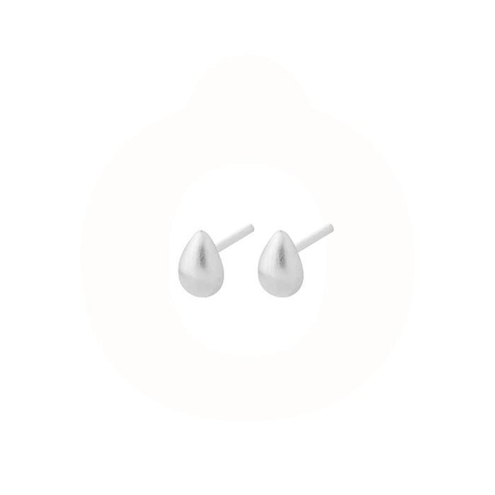 Pernille Corydon Waterdrop Sterling Sølv Ørestikker