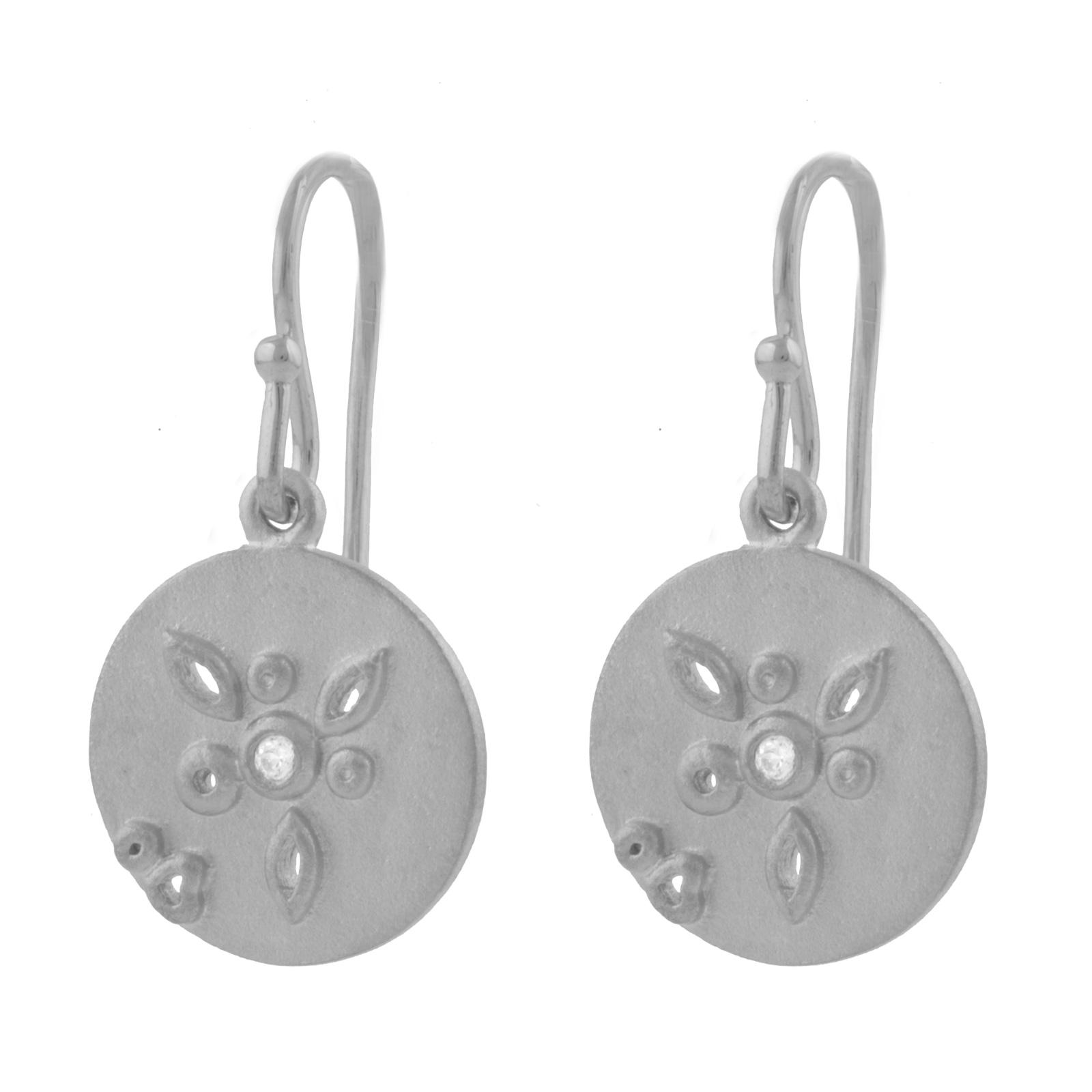 Sølv Øreringe E.1239RH