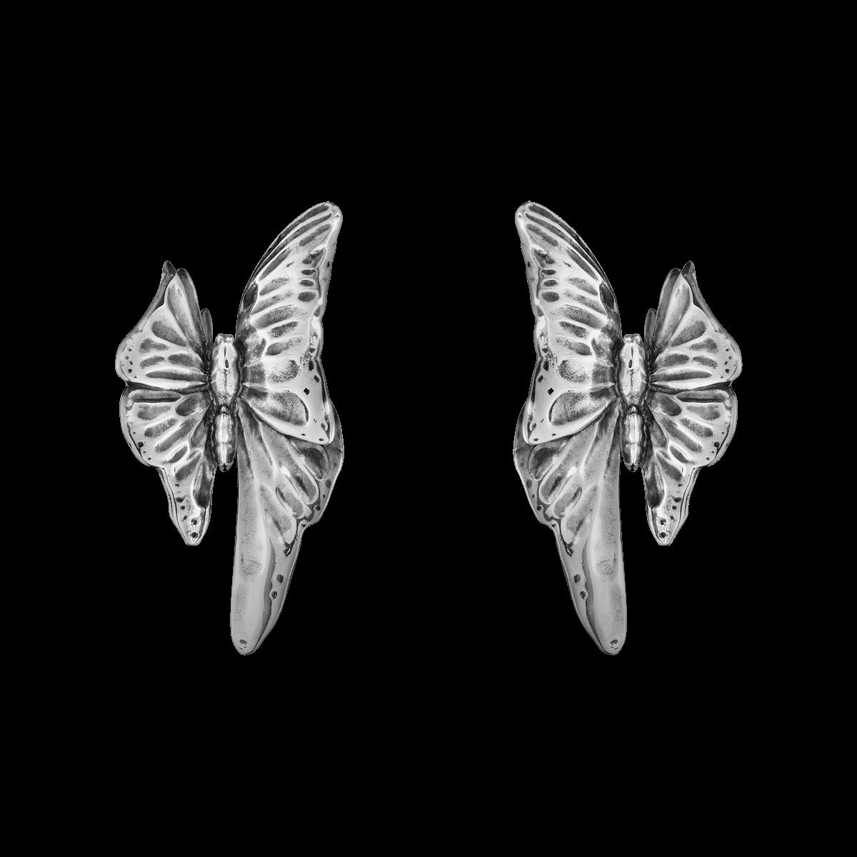 Georg Jensen Askill ørering sølv