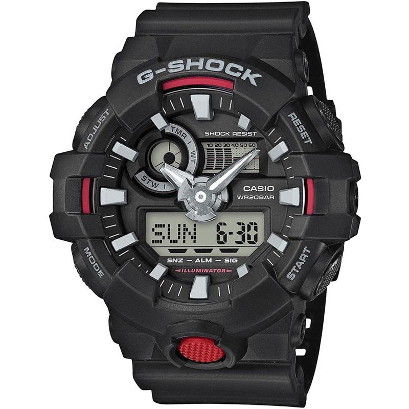 Image of   Casio G-Shock GA-700-1AER Ur til Herre