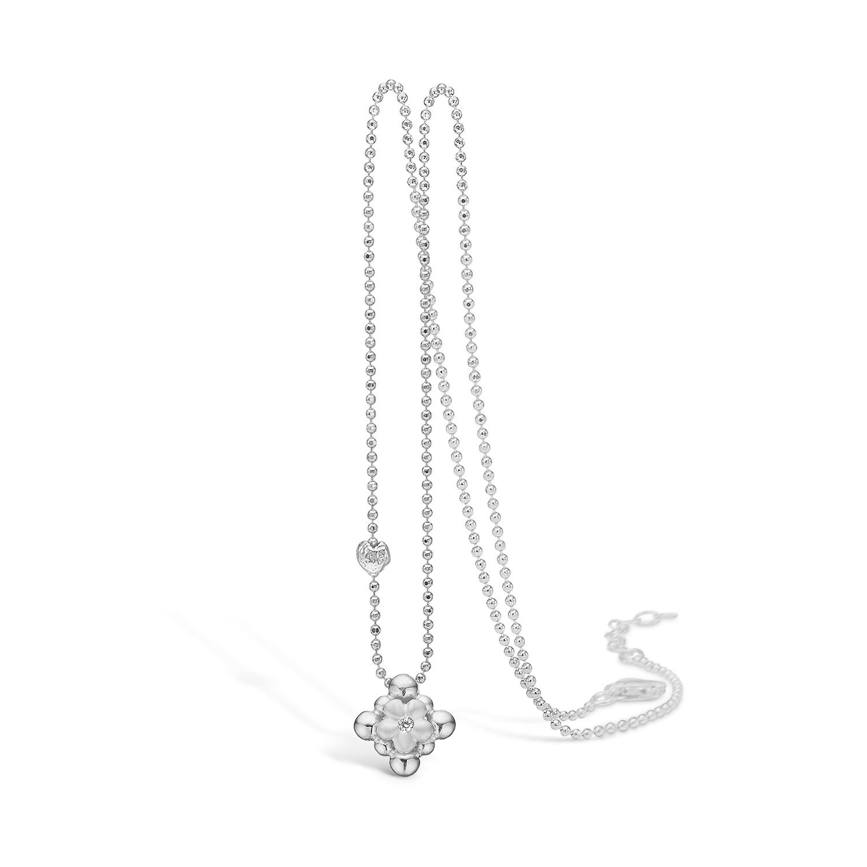 Blossom Halskæde i Sterling Sølv 21321232-45