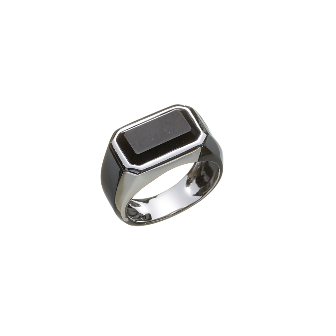 Image of   ALEXANDER LYNGGAARD HOPE SIGNET ONYX RING