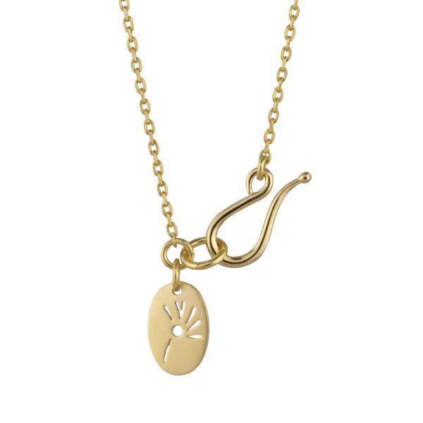 Image of   Anchor Chain Forgyldt Sølv Halskæde fra Izabel Camille